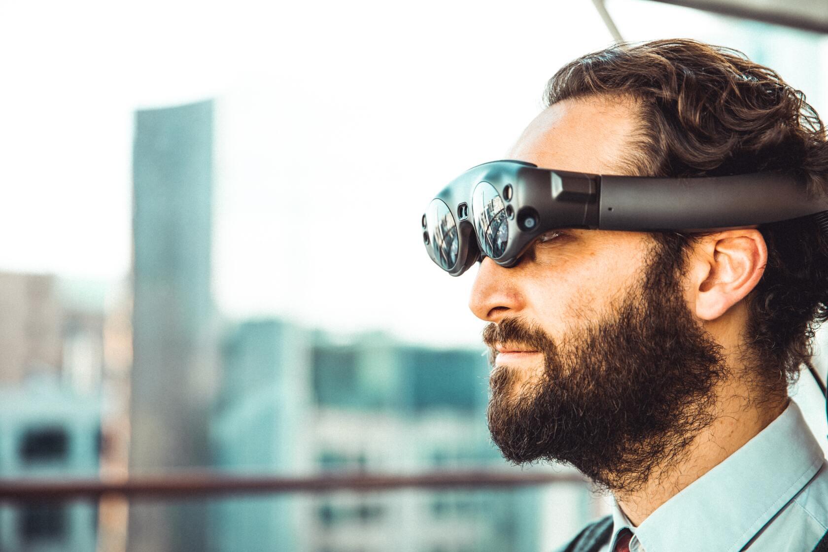 Virtuele realiteit op werk
